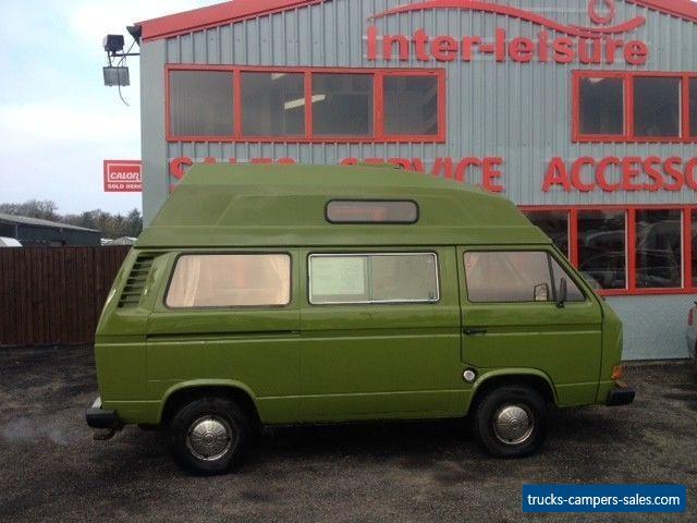 Volkswagen T25 Camper for Sale in the United Kingdom