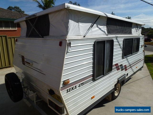 Caravan 1993 Coromal Seka 475 Pop Top, Roll Out Awning ...