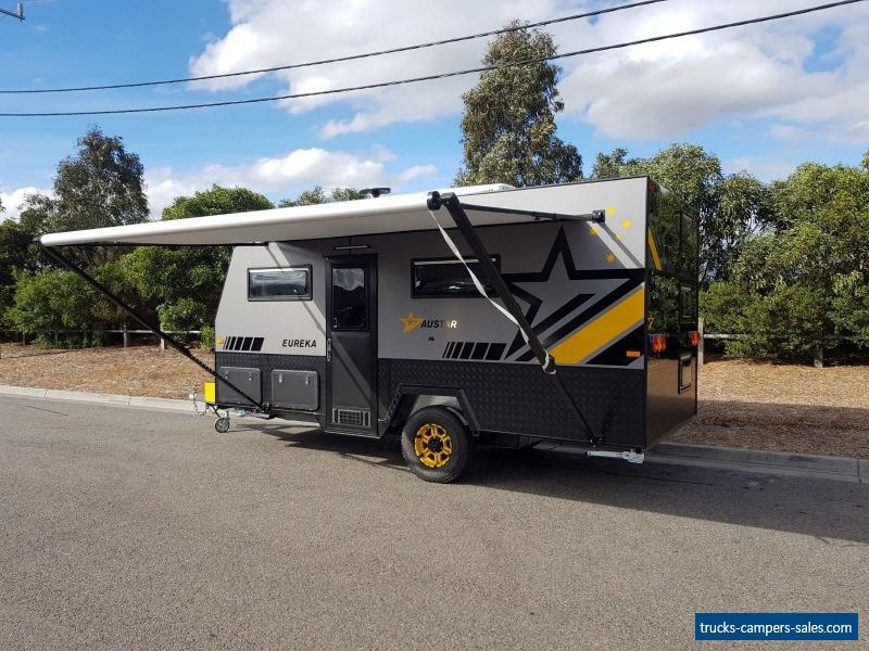 Austar Toy Hauler Eureka Caravan Family Camper Enclosed