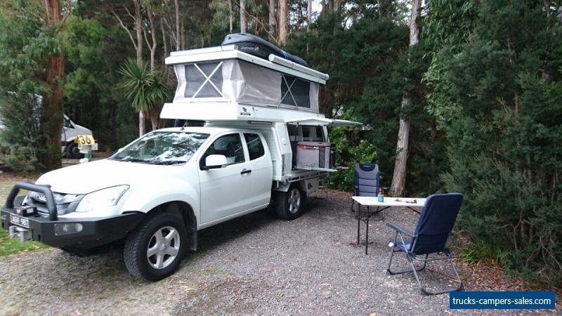 off road slide on camper camping unit 2017 off road aluminium from 400kg for sale in australia. Black Bedroom Furniture Sets. Home Design Ideas