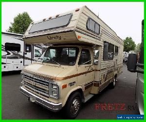 1985 Lindy class c motorhome vintage Chevy Motor Coach for