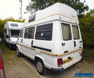 NOW SOLD,FIAT DUCATO AUTOHOMES CAMALOT HI TOP CAMPER 4 BERTH MOTORHOME for Sale