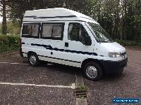Peugeot boxer holdsworth minuet 2 berth camper van with only 54000 miles  for Sale