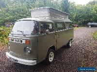 1974 VW T2 Bay WIndow Camper Van Semi Restored Clean and Tidy Complete Runs  for Sale