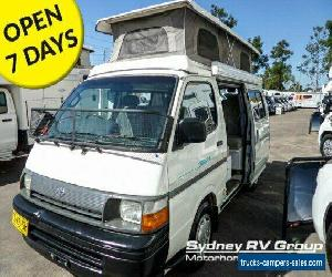 1998 Sunliner Discoverer Toyota White A Campervan for Sale