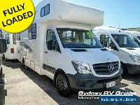 2015 Talvor Murana Mercedes White Motor Home for Sale