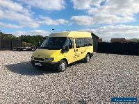 2001Y Ford TRANSIT 300 SWB 2.0TD 2 Berth Campervan Long Mot L@@K  for Sale