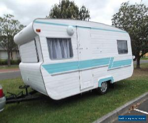 Viscount 14' Vintage Retro Caravan 4 Berth for Sale