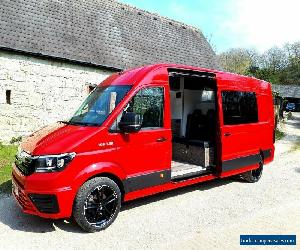2017 MAN TGE 180HP AUTO SPORTHOME RACE VAN CAMPER CRAFTER SPRINTER T6 T5 NO VAT  for Sale