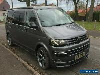 VW T5 CAMPER VAN 2013 RARE 7 SPEED DSG LWB 140 2.L TDI T30 4 BERTH WITH ROOF BED for Sale