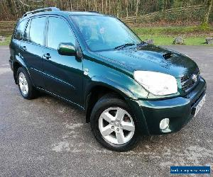 2004 Toyota Rav4 2.0 D4-D XTR 5dr Long MOT Good history Facelift for Sale