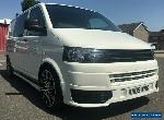 VW T5 Transporter 1.9 2009 Camper Day Van T5.1 Front FSH SWB for Sale