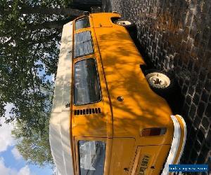VW 1979 Bay Window Camper Van