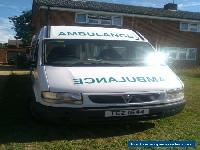 Vauxhall Movano Ambulance 2003 Ideal camper with Towbar for Sale