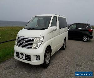 Nissan Elgrand Campervan for Sale