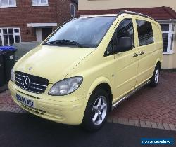 MERCEDES VITO CAMPER for Sale