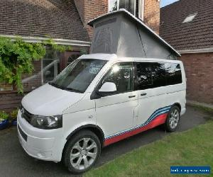 2013 VW T5 Transporter Pop Top 4 berth Campervan with M1 Tested Seatbed for Sale
