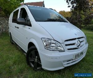 2011 Mercedes Vito sport 113cdi LWB blue efficiency camper van white like VW T5 for Sale