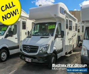 2016 Talvor Murana Mercedes White Motor Home for Sale