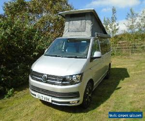 VW T6 CAMPERVAN ,LEVANTE SIX, 2017 ,27,000 miles,REFLEX SILVER ,6 BERTH, AWNING for Sale