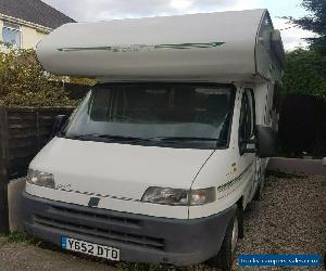 Swift Suntor 500 Millenium fiat ducato motorhome for Sale