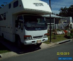 Winnebago Motorhome  sleeps 7 with shower and toilet Isuzu Auto seats 7 REDUCED for Sale