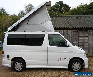 Mazda Bongo 2001 2ltr petrol with new wider bed side camper conversion lift roof for Sale