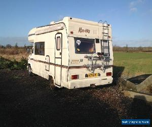 Fiat Talbot express 1990 2.5 Diesel  SWIFT KONTIKI 6 berth Motorhome PROJECT VAN for Sale