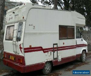 1986 Fiat Ducato Swift Kon-tiki 6 Berth Motorhome Fixed Double Bed *No Reserve*  for Sale