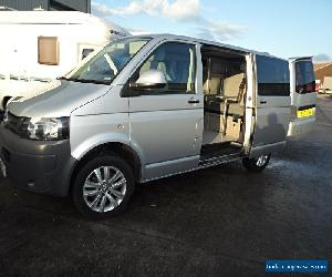 2012 VW TRANSPORTER T5 ,CAMPERVAN, NEW CONVERSION,SILVER,ALLOYS,12 MTH WARRANTY for Sale