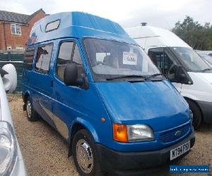 1996 ford transit swb high top 4 berth campervan 3 month warranty emc conversion for Sale