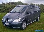 2015 Mercedes Vito 116CDi Sport Auto Elevating Roof Campervan 35k miles for Sale