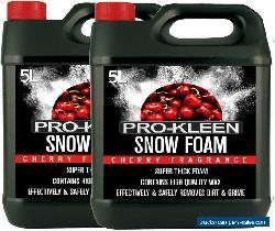 ProKleen Snow Foam Shampoo 10L Car Care Wax Wash Detailing pH Neutral High Gloss for Sale