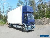 2008 08 REG DAF 55250 18 TON 27FEET BOX VAN SLEEPER POD NO RESERVE PLUS VAT VGC  for Sale
