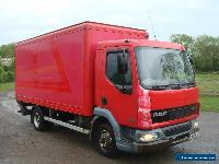 2006 DAF LF45.130 4X2 WITH BOX BODY AND TAIL LIFT for Sale