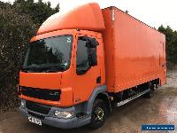 DAF LF45.150 21FT GRP BOX BODY TAIL LIFT MOBILE SELF STORAGE INSULATED ROOF SLD for Sale