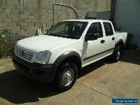 6/2005 HOLDEN RODEO LX, 3.6Ltr V6, 5spd MANUAL,DUAL CAB, 2WD, STYLESIDE UTILITY for Sale