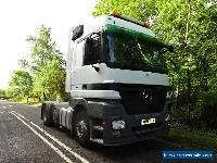 09/58 mercedes actros 2544 6x2 mega space euro 5 for Sale
