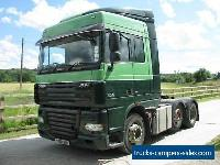 2008 DAF XF Series FTG 105.460 Space  Cab with Tipping Hydrolics for Sale