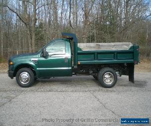 2008 Ford F350HD DUMP TRUCK JUST 4K ACTUAL MILES ONE OWNER SUPER CLEAN for Sale