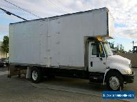 "2007 International 26ft Mover Box Truck 109""H+5ft attic Side doors+ read swing doors 26,000#GVWR under CDL for Sale"