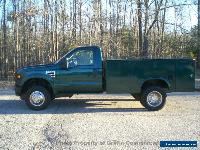 2008 Ford SUPER DUTY DRW 4x4 JUST 33k MI  HUGE UTILITY BODY 4WD ONE OWNER FOUR WHEEL DRIVE for Sale