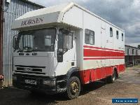 IVECO 120 E15 HORSEBOX OAKLAND BODY NEEDS TIDYING AND PLATING for Sale
