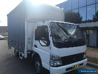 6 pallet tautliner curtansider with taillift / courier mitsubishi canter job  for Sale