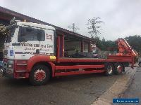 erf man cab lorry mounted crane wagon 26 tonne draw bar 17 tmtr crane  for Sale