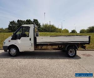 2005 05 PLATE FORD TRANSIT 2.4TDI ( 115PS )  350 LWB FLATBED PICKUP for Sale