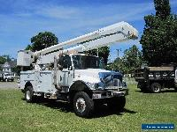 2004 International 7300 4X4 ALTEC 60 FT BUCKET 4WD DT466 DIESEL for Sale