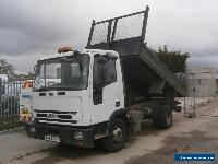 2003 IVECO-FORD CARGO TECTOR TIPPER LORRY TRUCK INSULATED DOUBLE DROPSIDE BODY for Sale