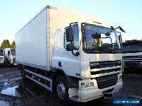 2010 DAF LF65.220 4X2 BOX TRUCK WITH TAIL LIFT SLEEPER CAB SCANIA BOX MAN BOX  for Sale