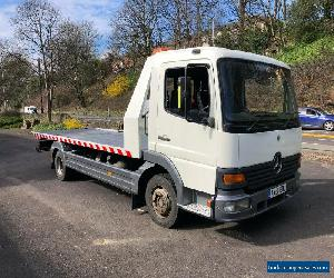 2002 MERCEDES ATEGO 817 7.5T TILT & SLIDE RECOVERY TRUCK  WITH SPEC LIFT NO VAT for Sale